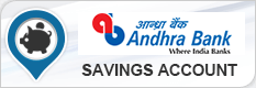 Andhra Bank Savings Account