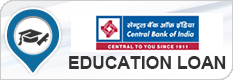 Central Bank of India Education Loan