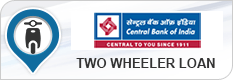 Central Bank of India Two Wheeler Loan