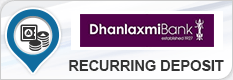 DHANALAKSHMI BANK RECURRING DEPOSIT
