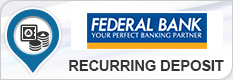 FEDERAL BANK RECURRING DEPOSIT