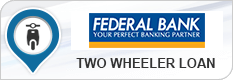 Federal Bank Two Wheeler Loan