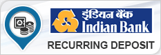 INDIAN BANK RECURRING DEPOSIT