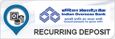INDIAN OVERSEAS BANK RECURRING DEPOSIT
