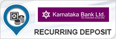 KARNATAKA BANK RECURRING DEPOSIT