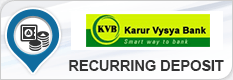 KARUR VYSYA BANK RECURRING DEPOSIT