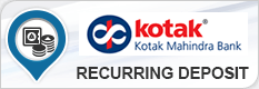 KOTAK MAHINDRA BANK RECURRING DEPOSIT