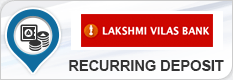 LAKSHMI VILAS BANK RECURRING DEPOSIT