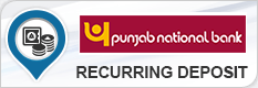 PUNJAB NATIONAL BANK RECURRING DEPOSIT