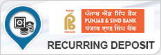 PUNJAB & SIND BANK RECURRING DEPOSIT