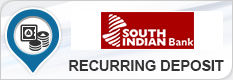 SOUTH INDIAN BANK RECURRING DEPOSIT