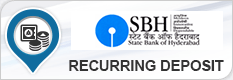 STATE BANK OF HYDERABAD RECURRING DEPOSIT