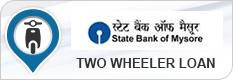 State Bank of Mysore  Two wheeler Loan