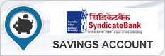 Syndicate Bank Savings Account