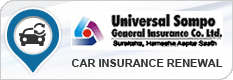 Universal Sompo Car Insurance Renewal