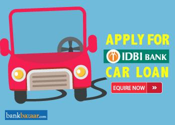 Idbi Bank Car Loan 9 10 Emi 30 Jul 2019