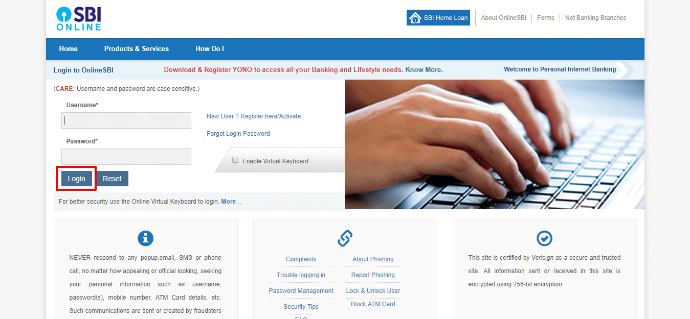 Link Aadhar with SBI Bank Account Online and Offline