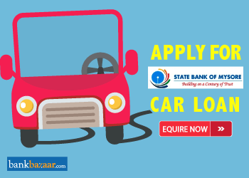 State Bank of Mysore Car Loan