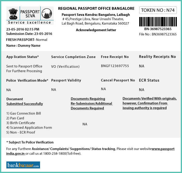 Psk - Passport Seva Kendra Process