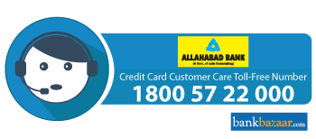 Allahabad Bank Credit Card Customer Care 24 7 Toll Free Number Email