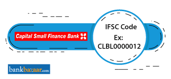 Capital Small Finance Bank IFSC Code