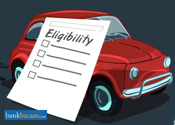 Car Loan Eligibility - Check Top Banks Car Loan Eligibility Criteria