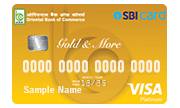 Oriental Bank of Commerce SBI Credit Card