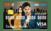 SBI StyleUP Contactless Credit Card