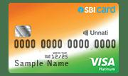 SBI Unnati Credit Card