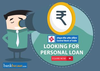 Enquire for Central Bank of India Personal Loan