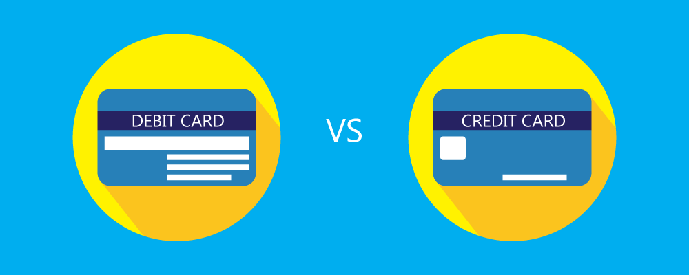 Difference Between Credit Card & Debit Card - Comparison in-detail