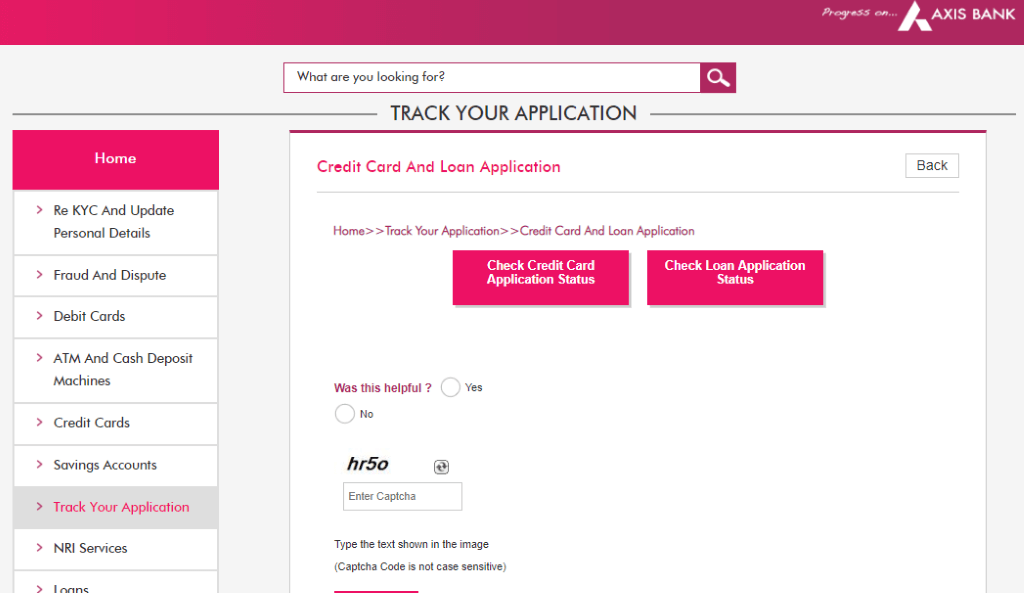 Axis Bank Home Loan Status Steps To Check Application Status Online
