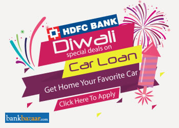 HDFC Bank Car Loan Diwali Offers