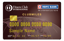 Apply  HDFC Bank Diners Club Credit Card