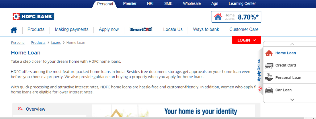 Hdfc Home Loan Status How To Check Application Status