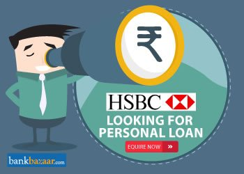 Enquire for HSBC Personal Loan