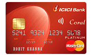 Apply ICICI Bank Coral Contactless Credit Card