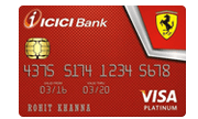 Apply ICICI Bank Ferrari Platinum Credit Card