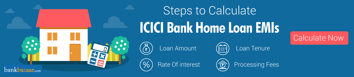Icici Home Loan EMI Calculator