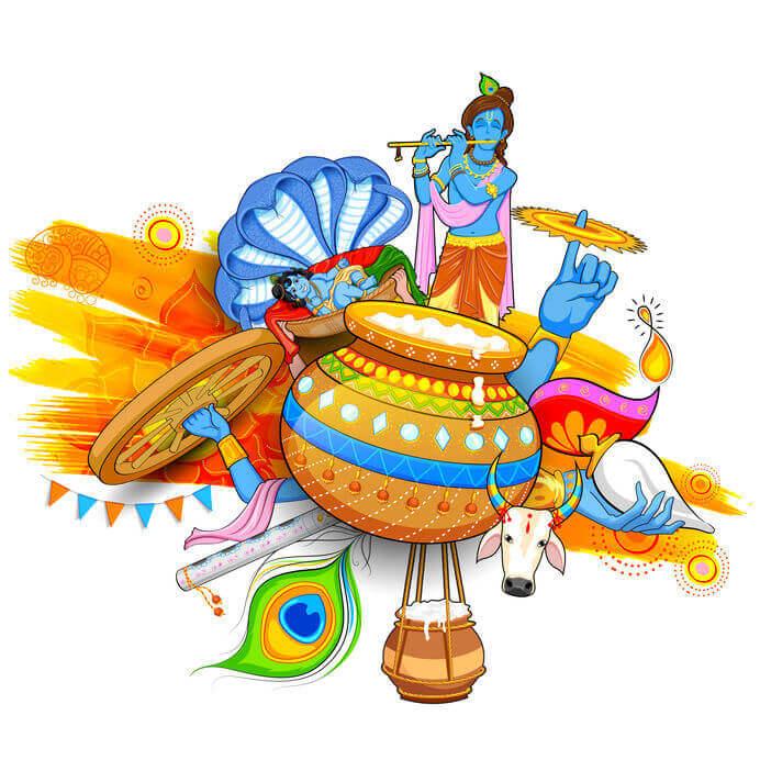 Image result for janmashtami