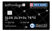 Apply JetPrivilege HDFC Bank Diners Club Credit Card