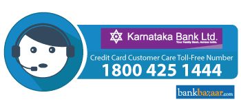 karnataka Bank Credit Card Toll free Number