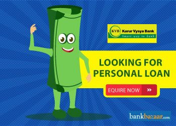 Enquire for Karur Vysya Bank Personal Loan