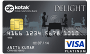 Apply Kotak Bank Delight Platinum Credit Card