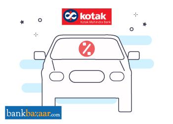 Kotak Bank Car Loan Interest Rates 29 Aug 2019
