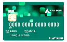 Apply Axis Bank Neo Credit Card