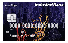 Apply IndusInd Bank Platinum Aura Edge Credit Card