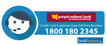 PNB Credit Card Toll free Number