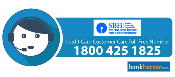 SBH Credit Card Toll free Number