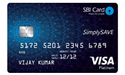 Apply SBI Simply Save Card Online